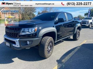 Used 2021 Chevrolet Colorado ZR2 Bison Edition  ZR2, CREW CAB, BISON EDITION, LEATHER, NAV, LOADED for sale in Ottawa, ON