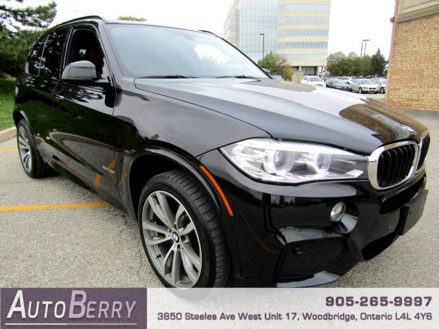 2015 BMW X5 xDrive35i M Sport Package Accident Free, Low Km!