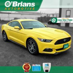 Used 2017 Ford Mustang Premium w/Command Start, Backup Camera, Leather, Navigation for sale in Saskatoon, SK