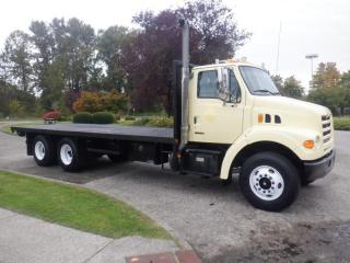Used 2003 Sterling LT7500 24 Foot Flat Deck With Air Brakes Diesel for sale in Burnaby, BC