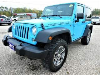 Used 2017 Jeep Wrangler Rubicon 3.6L | Navigation | Heated Seats | Manual for sale in Essex, ON