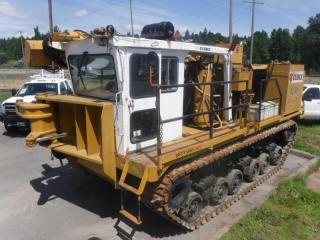 Used 2000 Cubex ND 40H Tank Crawler Hydraulic Boom Drilling Rig Diesel Power for sale in Burnaby, BC