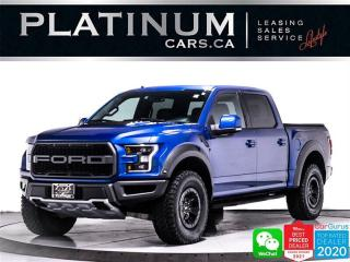 Used 2018 Ford F-150 Raptor, 450HP, TURBOCHARGED, HEATED/VENTED SEATS for sale in Toronto, ON