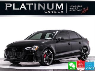 Used 2020 Audi RS 3 2.5T Quattro, AWD, TURBOCHARGED, 400HP, NAV, CAM for sale in Toronto, ON