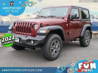 New 2021 Jeep Wrangler Sport S  - $418 B/W for sale in Abbotsford, BC