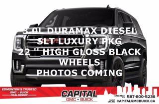 New 2021 GMC Yukon XL SLT 4WD for sale in Edmonton, AB