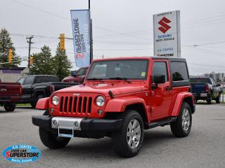 Used 2015 Jeep Wrangler Sahara 4x4 ~Nav ~Bluetooth ~Heated Seats ~A/C for sale in Barrie, ON