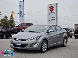 Used 2015 Hyundai Elantra Sport ~Heated Seats ~Bluetooth ~Power Moonroof for sale in Barrie, ON