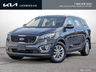 Used 2018 Kia Sorento LX Turbo AWD - ONE OWNER | CLEAN CARFAX for sale in Oakville, ON