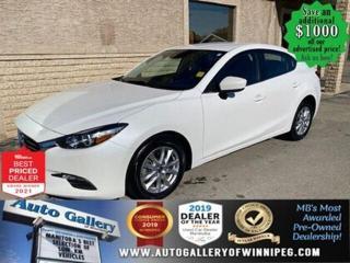 Used 2018 Mazda MAZDA3 GS* Bluetooth/Heated Seats/Reverse Camera for sale in Winnipeg, MB