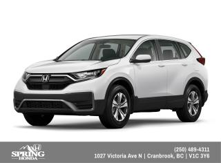 New 2022 Honda CR-V LX 4WD for sale in Cranbrook, BC