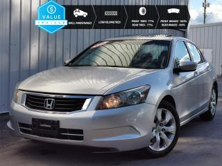 Used 2008 Honda Accord EX LOW MILEAGE, WELL MAINTAINED, NEW FRONT BRAKES, TIRES WITH 70% TREAD LEFT for sale in Cranbrook, BC