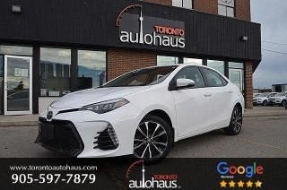 Used 2017 Toyota Corolla SE I 6SPD I SUNROOF I HTD SEATS I LDW for sale in Concord, ON