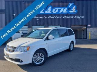 Used 2019 Dodge Grand Caravan 35th Anniversary -  Leather, Rear DVD, Park Sense Rear Park Assist, Reverse Camera & Much More! for sale in Guelph, ON