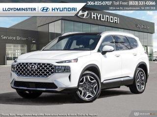 New 2022 Hyundai Santa Fe PLUG-IN HYBRID Luxury for sale in Lloydminster, SK