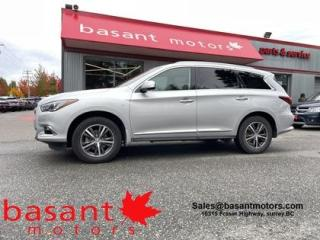 Used 2019 Infiniti QX60 360° Cam, Nav, Sunroof, Leather, Heated Seats!! for sale in Surrey, BC