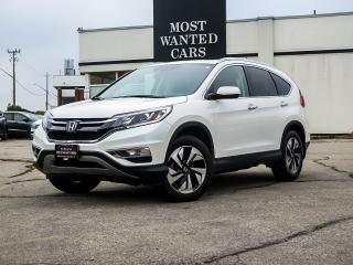 Used 2015 Honda CR-V Touring AWD | NAV | LANE | LEATHER | ROOF for sale in Kitchener, ON