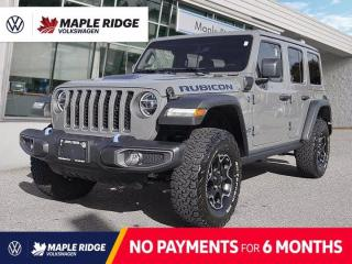 Used 2021 Jeep Wrangler 4xe Unlimited Rubicon for sale in Maple Ridge, BC