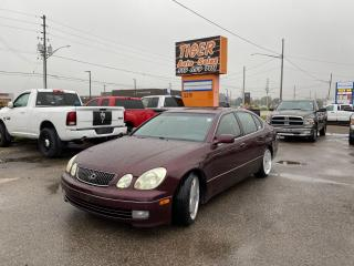 Used 2003 Lexus GS 300 WORK WHEELS*HKS COILOVERS*HEADER*EXHAUST*KAAZ DIFF for sale in London, ON