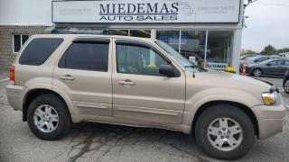 Used 2007 Ford Escape Limited for sale in Mono, ON