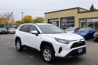 Used 2021 Toyota RAV4 Hybrid LE for sale in Brampton, ON