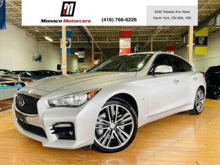 Used 2015 Infiniti Q50 Sport - AWD |NAVIGATION |CAMERA |SUNROOF for sale in North York, ON