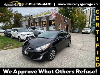Used 2015 Hyundai Accent SE for sale in Guelph, ON