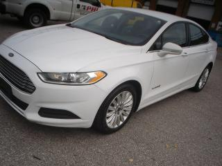 Used 2013 Ford Fusion Hybrid Se for sale in Mississauga, ON
