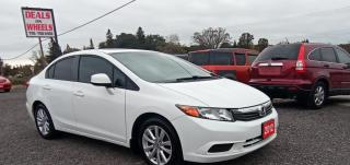 Used 2012 Honda Civic EX, Sunroof,  Alloys for sale in Peterborough, ON
