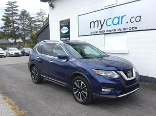 Used 2017 Nissan Rogue SL Platinum SUNROOF. NAV. BACKUP CAM. HEATED SEATS. ALLOYS. for sale in Kingston, ON