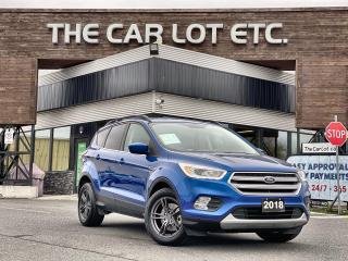 Used 2018 Ford Escape SEL 4X4!! BACK-UP CAMERA!! NAVIGATION!! HEATED SEATS!! for sale in Sudbury, ON