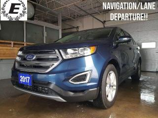 Used 2017 Ford Edge SEL  NAVIGATION/LANE DEPARTURE!! for sale in Barrie, ON