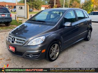Used 2011 Mercedes-Benz B-Class B 200 Turbo|LOW KM|NO ACCIDENT|SUNROOF|CERTIFIED for sale in Oakville, ON