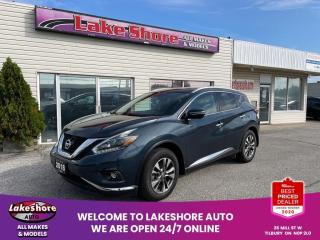 Used 2018 Nissan Murano SL LEATHER for sale in Tilbury, ON