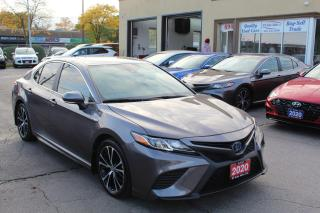 Used 2020 Toyota Camry HYBRID SE with Sunroof for sale in Brampton, ON
