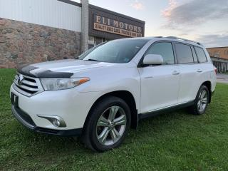 Used 2012 Toyota Highlander LIMITED AWD NAVIGATION REAR VIEW CAM CAMERA for sale in North York, ON