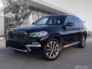 Used 2018 BMW X3 xDrive30i Enhanced! Harman/Kardon! Accident Free! for sale in Winnipeg, MB