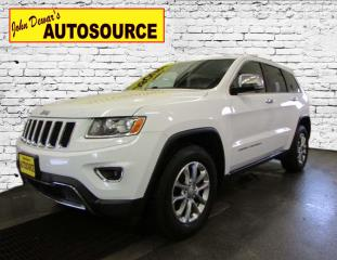 Used 2016 Jeep Grand Cherokee Limited for sale in Peterborough, ON