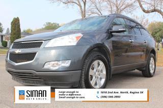 Used 2010 Chevrolet Traverse 1LT EXCELLENT VALUE for sale in Regina, SK