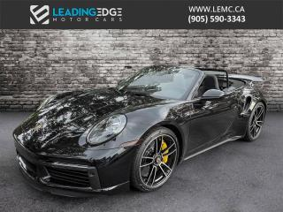 Used 2021 Porsche 911 Turbo S Cabriolet for sale in King, ON