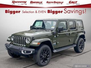 New 2021 Jeep Wrangler Unlimited Sahara 4XE for sale in Etobicoke, ON