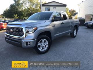 Used 2019 Toyota Tundra SR5 Plus 5.7L V8 6FT BED  ALLOYS  FOG LIGHTS  A/C for sale in Ottawa, ON
