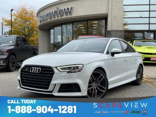 Used 2017 Audi S3 2.0T Technik for sale in Scarborough, ON