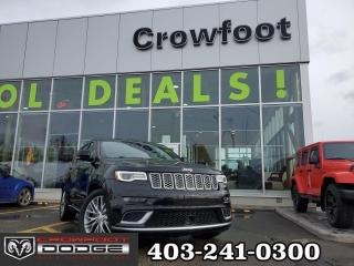 Used 2018 Jeep Grand Cherokee SUMMIT WITH HEMI 4X4 for sale in Calgary, AB
