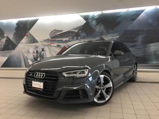 Used 2020 Audi S3 Sedan 2.0T Technik + Tech Pkg | Wireless Charge | Nav for sale in Whitby, ON
