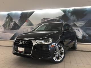 Used 2018 Audi Q3 2.0T Progressiv + Nav Pkg | Pano Roof | Low KMs for sale in Whitby, ON