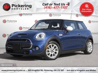 Used 2017 MINI Cooper S - HEADS UP DISPLAY/LEATHER/PANO ROOF/REAR CAM for sale in Pickering, ON