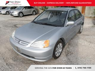Used 2002 Honda Civic for sale in Toronto, ON