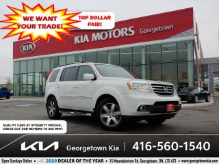 Used 2014 Honda Pilot Touring | CLN CRFX | 8 PASS | SUNROOF | NAV | B/T for sale in Georgetown, ON