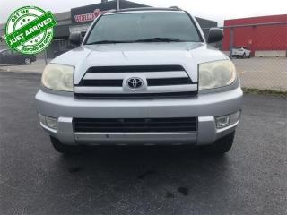 Used 2003 Toyota 4Runner LIMITED  AS-TRADED, AS-IS! YOU CERTIFY YOU SAVE! FINANCING NOT AVAILABLE ON AS-IS, AS-TRADED VEHICLES! for sale in St Catharines, ON